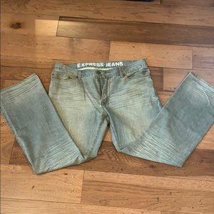 Men's Express Jeans.. grey 38 x 34